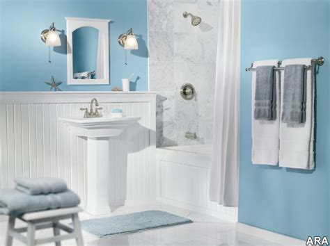 chambre gris et bleu gris et bleu deux couleurs en osmose dans la salle de