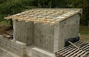 Delicieux construction d un garage en parpaing 4 for Garage bois ou parpaing