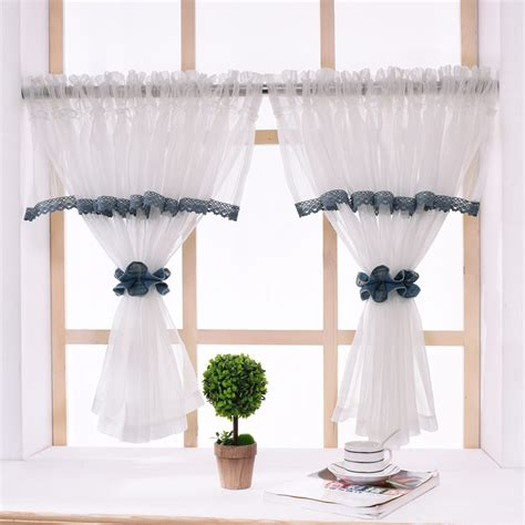 rzcortinas pastoral kitchen curtains  elegant valance