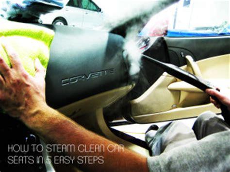 steam clean car seats   easy steps video