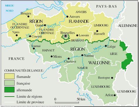 Ville De Carte by Belgique Carte