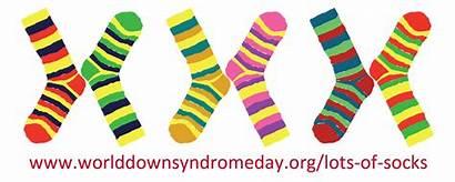 Syndrome Socks Down Lots Clipart Sock Awareness