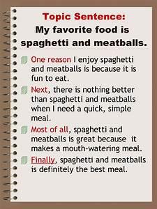 my favorite food is spaghetti essay