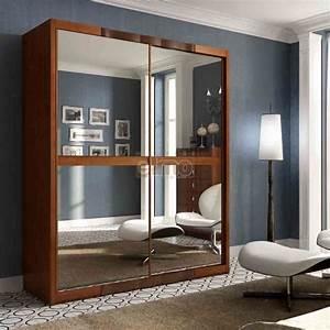Porte De Penderie : armoire penderie dressing placards merisier massif meubles ~ Teatrodelosmanantiales.com Idées de Décoration