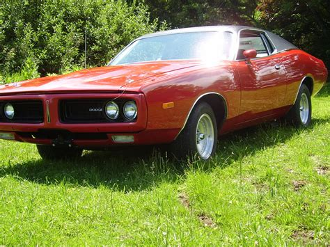 1972 Dodge Charger Base Hardtop 2door 66l  Muscle Car