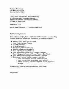 i 130 sample cover letter the letter sample With concurrent filing i 130 and i 485 cover letter