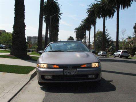 1992 Mitsubishi Eclipse Gsx by Mitsubishi Eclipse Hatchback 1992 Silver For Sale