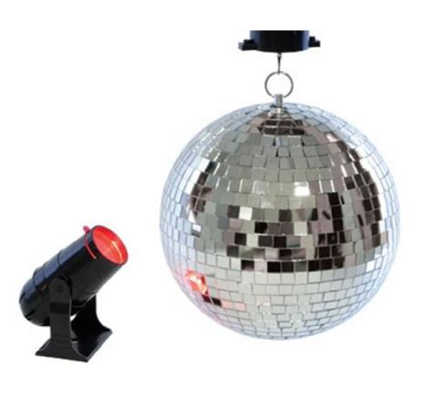 Lloytron Dj Disco Twin Ball Lighting Xmas Party Mirror Led