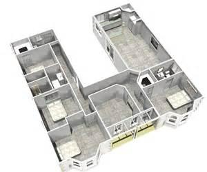 Inspiring U Shaped Homes Photo u shaped homes home design