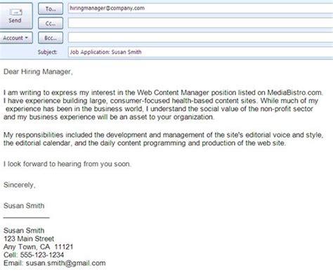 format  job winning cover letter job application