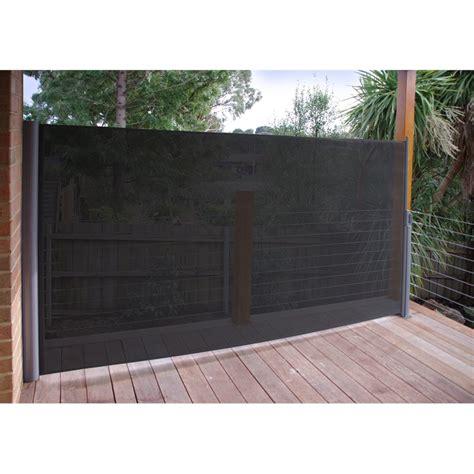 pillar products 2 x 2m retractable patio e screen