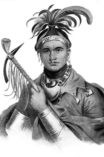 Native American Seneca Indian Tribe