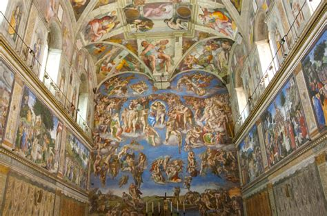Painted The Ceiling Of The Sistine Chapel In Rome by Who Painted The Sistine Chapel The