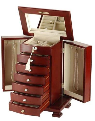 tall jewelry box plans