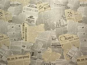 Newsprint Background - PowerPoint Backgrounds for Free ...