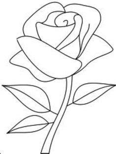 Easy Flowers To Draw - ClipArt Best | art | Rose drawing