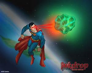 Superman vs Kryptonite by inkdropstudio on DeviantArt