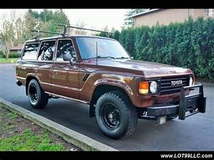 1984 Toyota Land Cruiser J60 4 Speed Manual Transmission