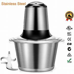 Stainless Steel Meat Grinder Chopper Electric Automatic