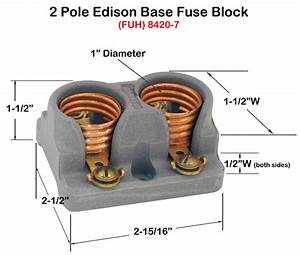 Fuse Holders  Block Style