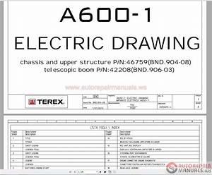 Terex Bendini A600 Parts Manual