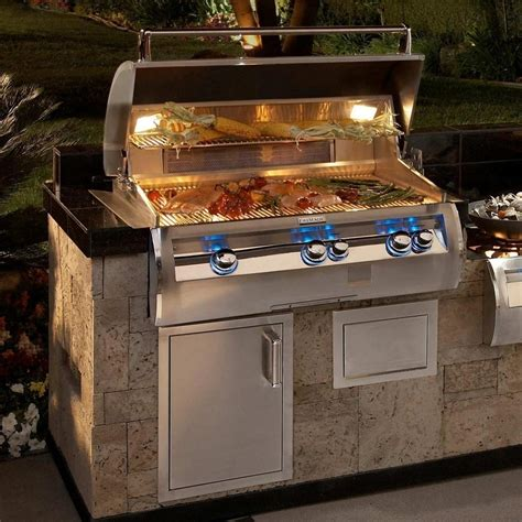 outdoor barbecue areas magic echelon e790i 36 inch built in propane