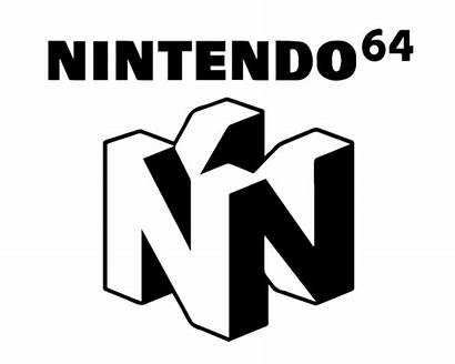 Nintendo 64 Stencil Svg Vector Logos Pack