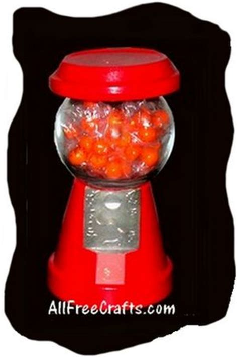 faux gumball machine   crafts