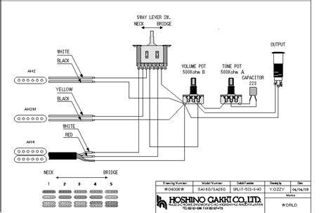 ibanez hss wiring diagram somurich