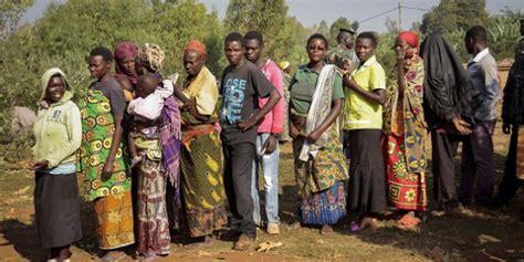 bureau de coordination des affaires humanitaires burundi un quart de la population a besoin d une aide