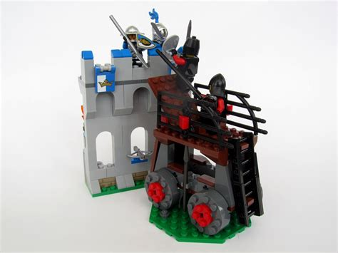 siege lego brickbuilt lego moc siege tower attack