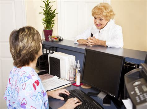 doctor s office front desk jobs the advantages of telemedicine for medical office workers