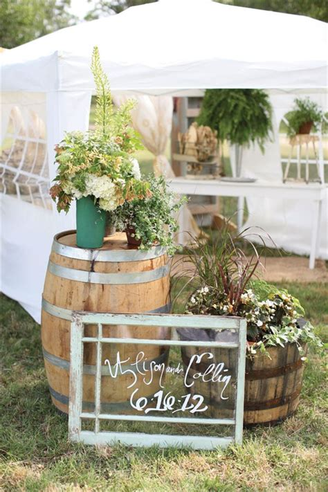 another 20 rustic wine barrels wedding decor ideas deer pearl flowers