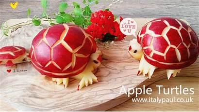 Fruit Carving Apple Vegetable Decoration Garnish Vegetables