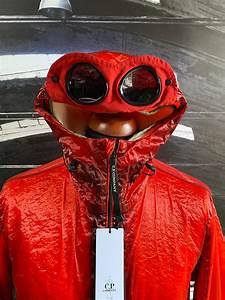 c p company kan d goggle jacket x clothing