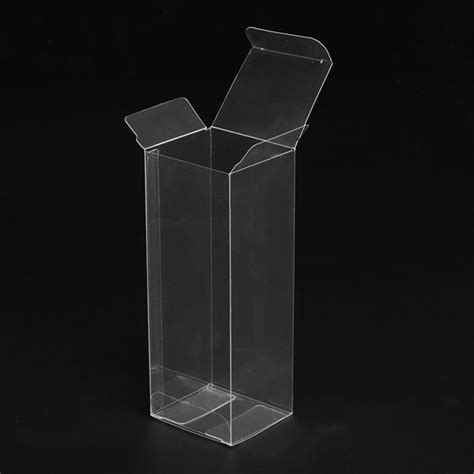 transparent pvc pet fish bait packaging clear custom