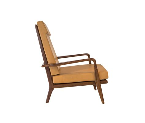 Rail Back Highback Arm Chair  Lounge Chairs From Smilow