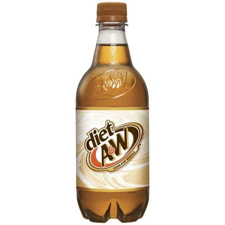 If you dont use a ton, you dont even have to use low cal options. A&W Diet Cream Soda, 20 Fl. Oz. - Walmart.com