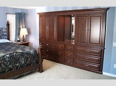 Bedroom wall unit Woodwork Creations