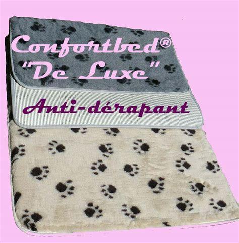 tapis confortbed 169 quot de luxe quot anti d 233 rapant couchage pour
