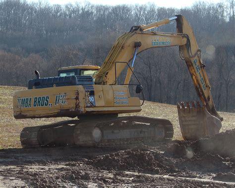 zemba bros  zanesville ohio equipment excavators