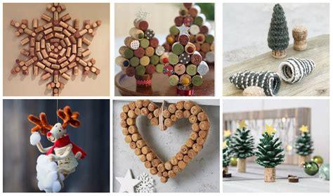 kreative weihnachtsdekoration aus korken nettetippsde