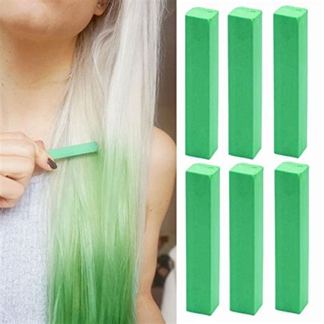 Green Hair Chalk By Cascada23461 On Deviantart