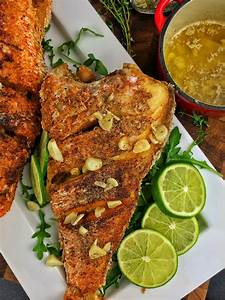 Fried Red Snapper with Lime Garlic Butter | DariusCooks.TV