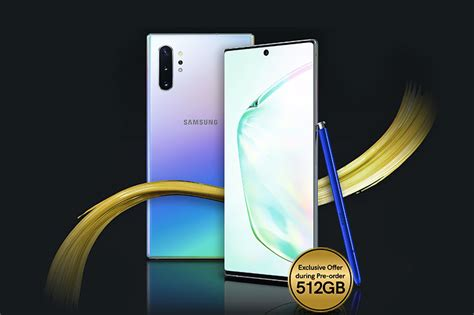 pre order the samsung galaxy note 10 series with smart signature plans and get freebies