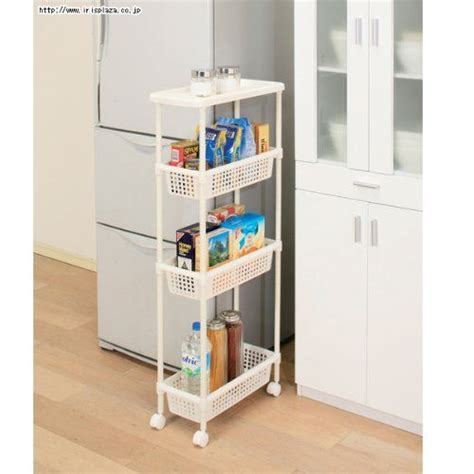 Laundry Cart  Kitchen Cart For Narrow Space Mkw4s By