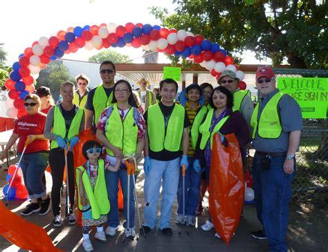 weekend meriwest credit union volunteers