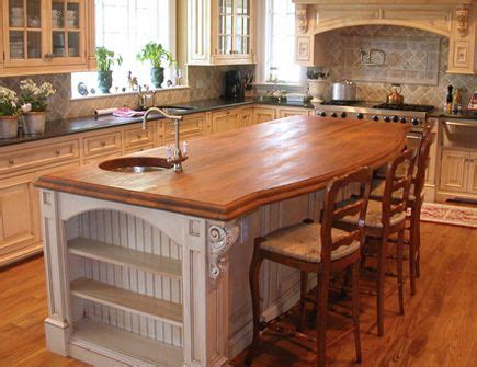 solid wood countertops wood  granite counter top