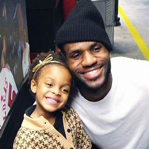 LeBron James' Instagram Pic with Little Girl Raises ...