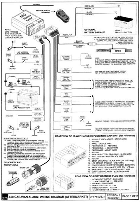 autowatch 650 wiring diagram - Autowatch 650 - Gallery